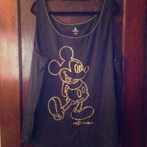 3x Disney Mickey Mouse Tank